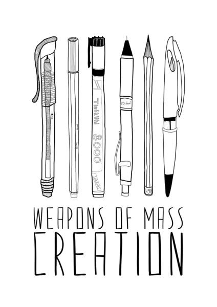 Charlie Hebdo : idées de textes, d'illustrations et de réflexions à partager avec les élèves - Comment faire cours après cela ? - Page 6 Weapon10