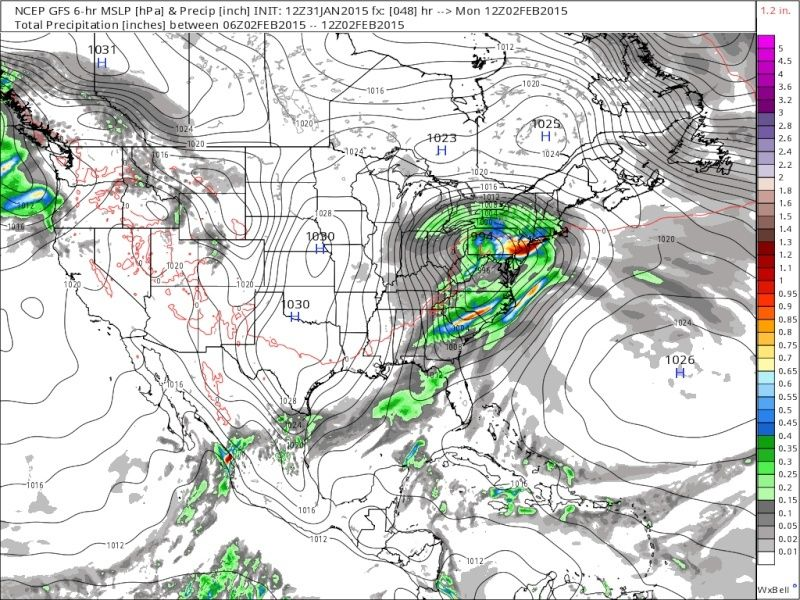 Update #2: 1st Call Snow Map, Intense Winter Storm Coming  - Page 4 Gfs_sl10