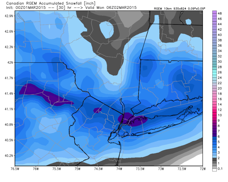 Sunday-Monday Snowstorm - 2nd Call Snow Map - Page 6 Rgem_s10