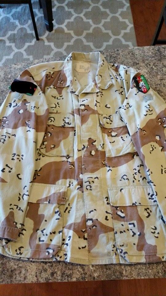 MARPAT Afghanistan SF uniform Ac11