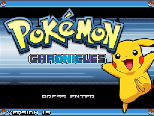 Pokémon Chronicles Demo - Version 15 Pokemo13