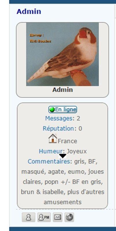 Comment ajouter une flêche sur le volet infos de l'avatar Image117