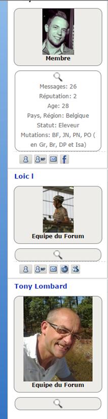 Comment ajouter une flêche sur le volet infos de l'avatar Image158