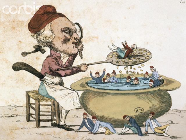 Les révolutionnaires caricaturés Corbis10