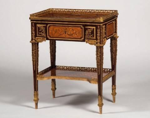 Table à écrire de Marie-Antoinette à Waddesdon Manor