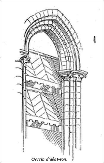 Glossaire de l'architecture - Abat-son 000_0137