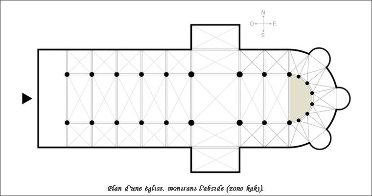 Glossaire de l'architecture - Abside 000_0139