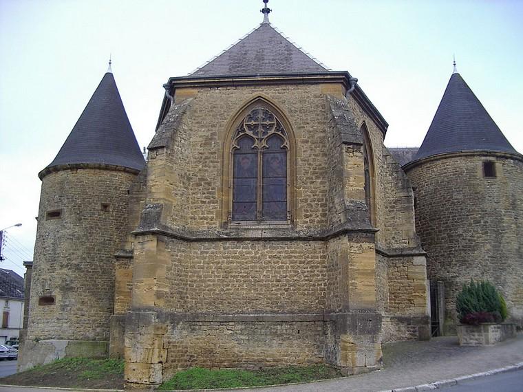 Architecture religieuse et militaire : Eglises fortifiées 000_0398