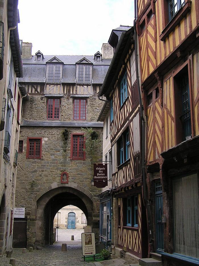 Portes de ville - Rennes : Porte mordelaise 000_0777