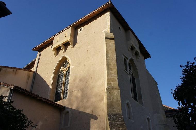 Architecture religieuse et militaire : Eglises fortifiées 000_0823