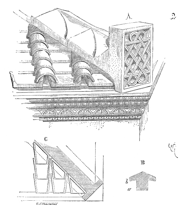 Glossaire de l'architecture - Antéfixe Aretie10
