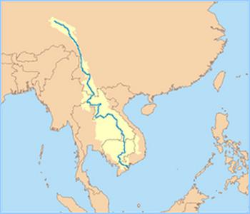 Bassin Versant d'Asie - Mékong Carte_10