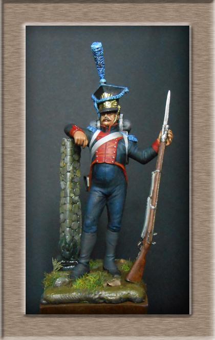 Fusilier Polonais de la légion du nord 1805_1808 MM 54mm 74_12213