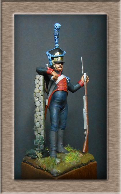 Fusilier Polonais de la légion du nord 1805_1808 MM 54mm 74_12214
