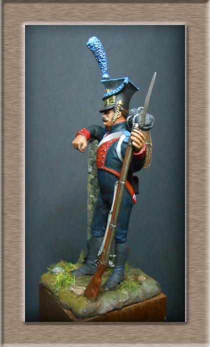 Fusilier Polonais de la légion du nord 1805_1808 MM 54mm 74_12215