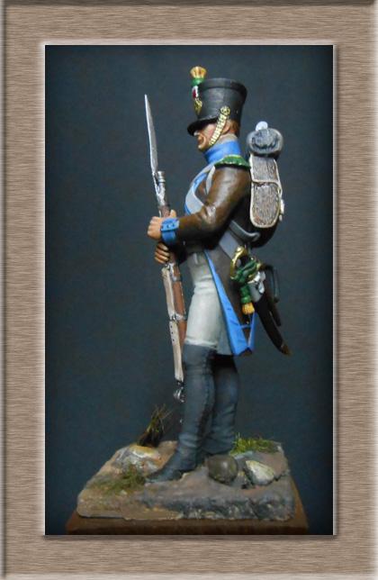 Voltigeur de la Légion du midi 1809 MM 54mm 74_13312