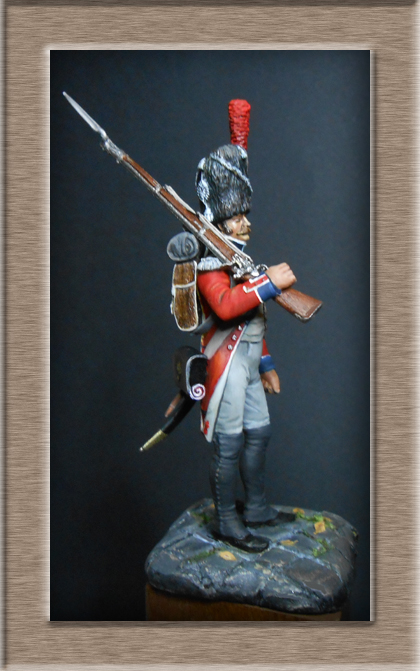 Grenadier de la Légion Hanovrienne 1803-1811 MM 54mm modification 74_14714