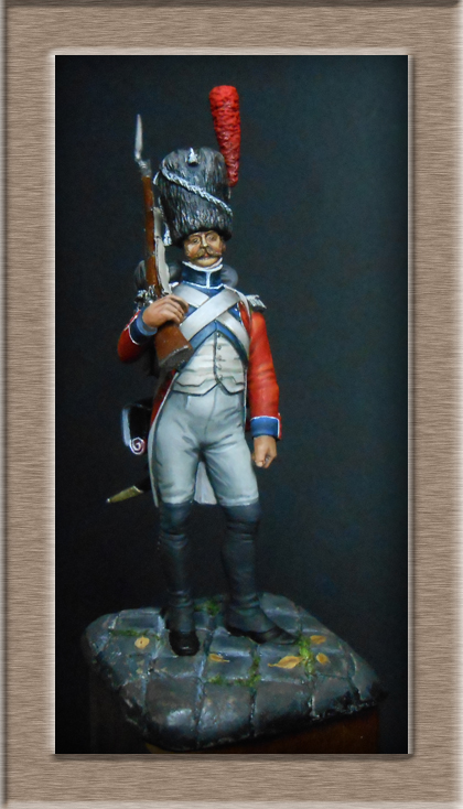 Grenadier de la Légion Hanovrienne 1803-1811 MM 54mm modification 74_14814