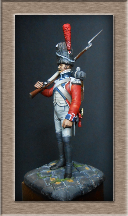 Grenadier de la Légion Hanovrienne 1803-1811 MM 54mm modification 74_14815