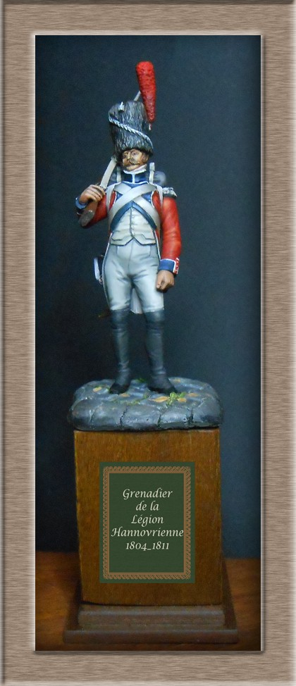 Grenadier de la Légion Hanovrienne 1803-1811 MM 54mm modification 74_15014