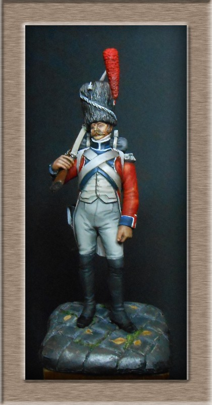 Grenadier de la Légion Hanovrienne 1803-1811 MM 54mm modification 74_15015