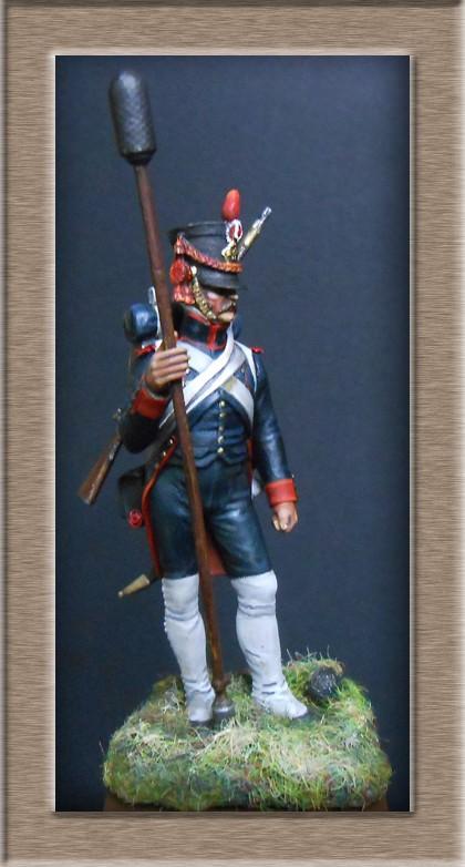 Artilleur à pied de la ligne en 1806 MM 54mm modification 74_15311