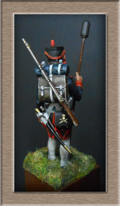 Artilleur à pied de la ligne en 1806 MM 54mm modification 74_15913