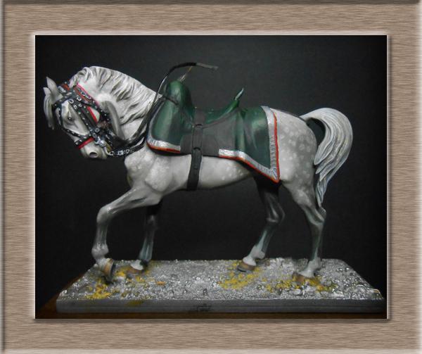 Chef d'escadron Chasseurs à cheval cavalerie légère Métal modèles 54mm 74_97612