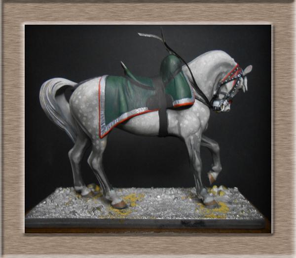Chef d'escadron Chasseurs à cheval cavalerie légère Métal modèles 54mm 74_97912