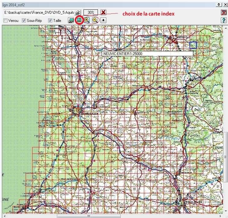 Tag index sur Tout sur OziExplorer - PC - CE - Androïd Indxso11