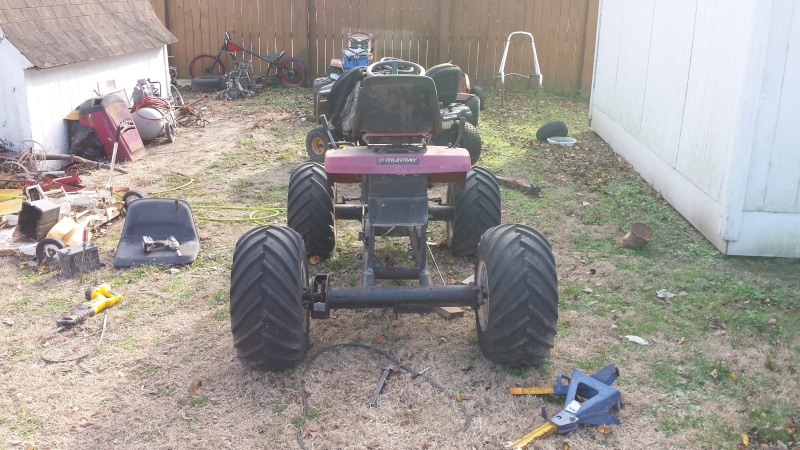 Project Spare Change aka Homemade Side by Side UTV 20141214