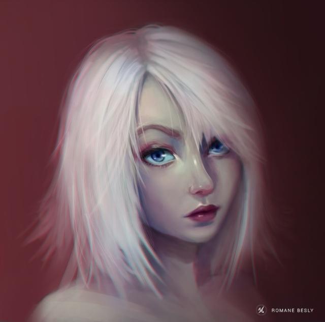 Portrait de personne Blanch10