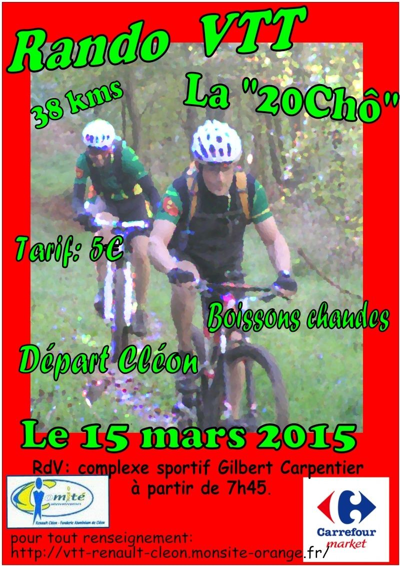 [15 mars 2015] La 20Chô Affich13