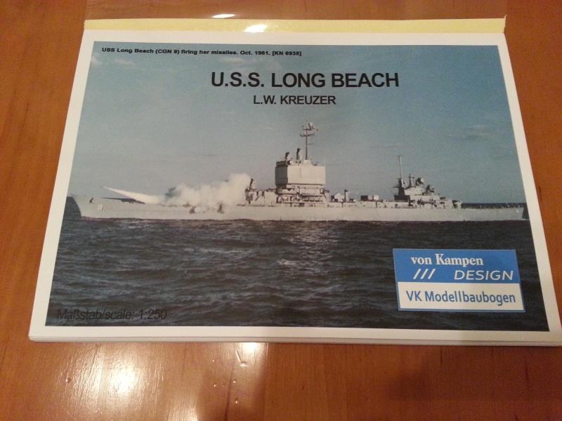U.S.S. Long Beach   VK-Design  1:250 gebaut von Paperfreak 20141010