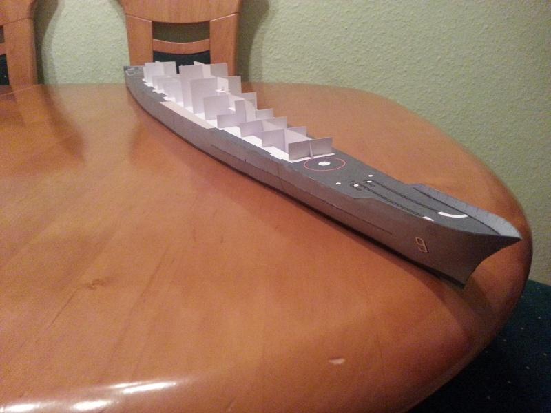 U.S.S. Long Beach   VK-Design  1:250 gebaut von Paperfreak 20150127