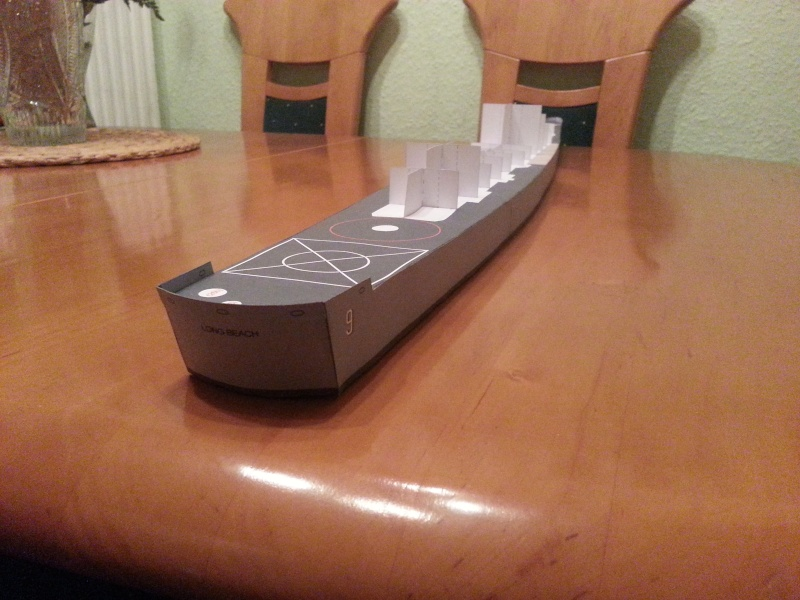 U.S.S. Long Beach   VK-Design  1:250 gebaut von Paperfreak 20150129