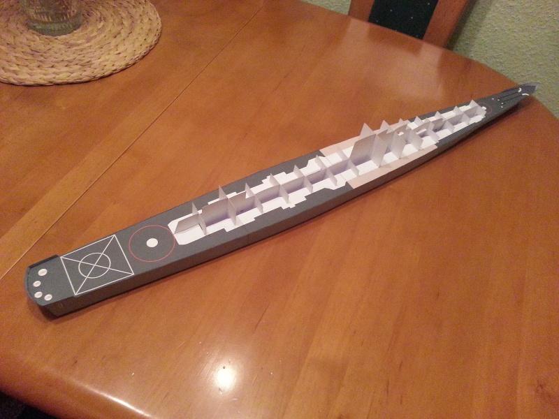 U.S.S. Long Beach   VK-Design  1:250 gebaut von Paperfreak 20150130