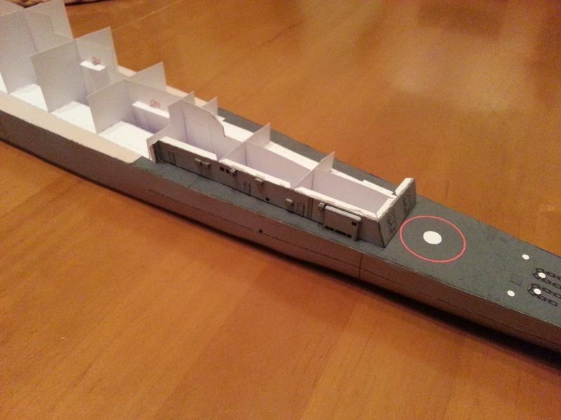 U.S.S. Long Beach   VK-Design  1:250 gebaut von Paperfreak 20150218