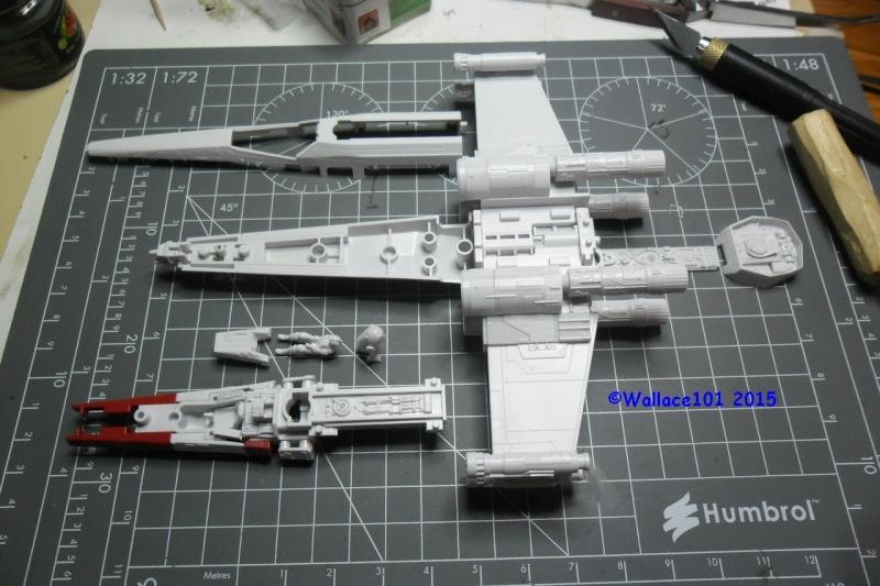 X-Wing Starfighter T-65 Bandaï 1/72 22_02_21