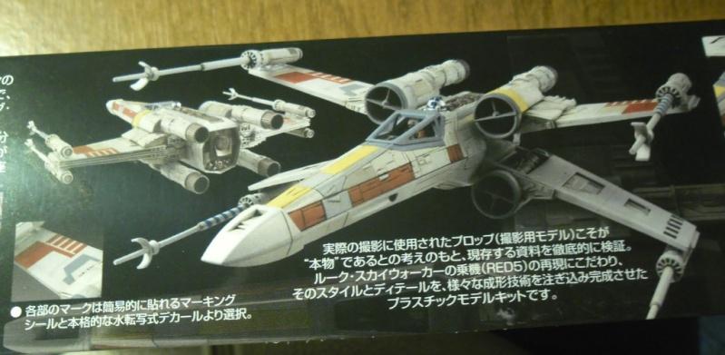 X-Wing Starfighter T-65 Bandaï 1/72 Sans_t33