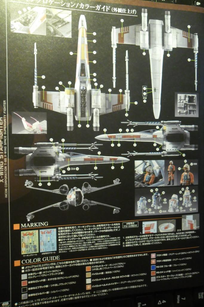 X-Wing Starfighter T-65 Bandaï 1/72 Sans_t35