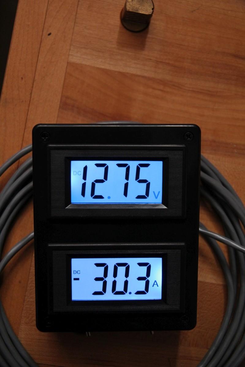 Batterie, Voltmètre et Ampèrmètre Img_3411