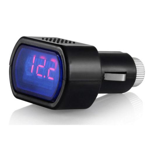 Batterie, Voltmètre et Ampèrmètre Voltme10