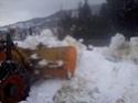 Trattori con vomero oppure lama da neve. Foto0811