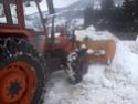 Trattori con vomero oppure lama da neve. Foto0812