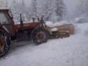 Trattori con vomero oppure lama da neve. Foto1510