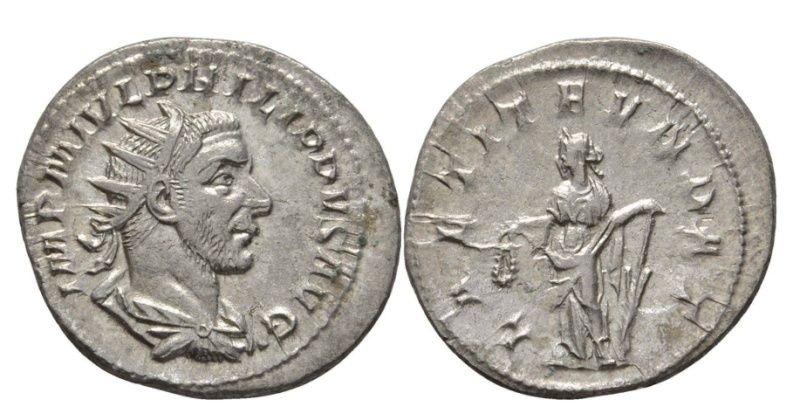 Monnaie de Philippe l'Arabe... portrait de Gordien III ?  10-01-10
