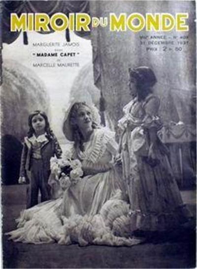 """""""Madame Capet"""", par Marcelle Maurette 1507-110"""