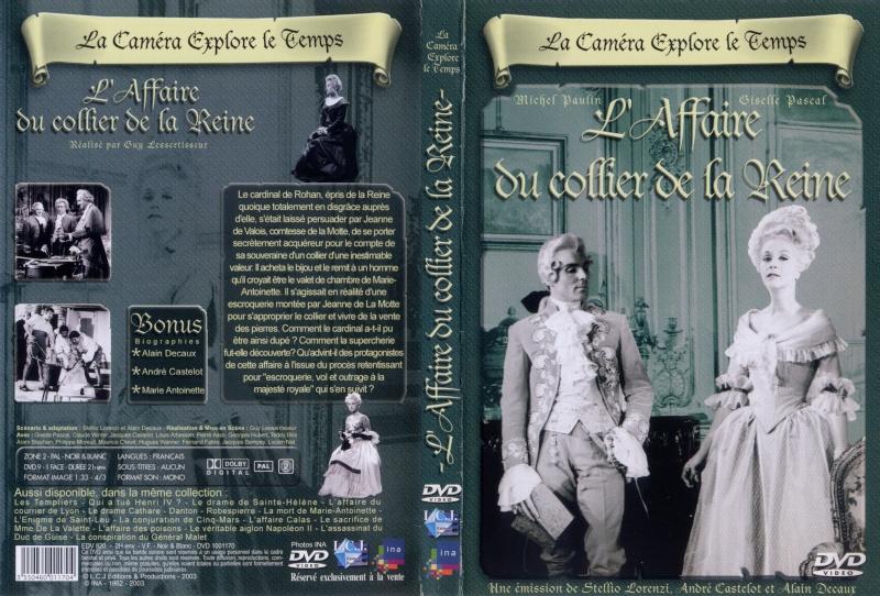"""""""L'affaire du collier de la reine"""", avec Giselle Pascal (Série """"La Caméra explore le temps"""" - 1962) La_cam10"""