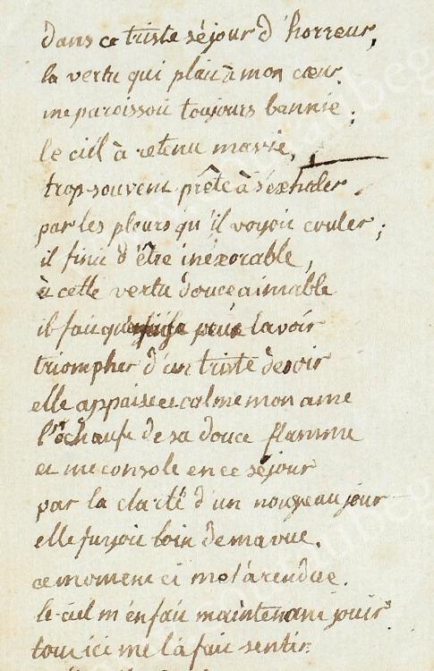 Ecrits de Marie Thérèse Charlotte, Madame Royale Tumblr38
